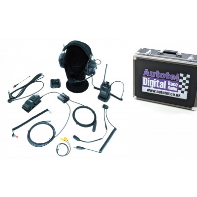 Race 600D Complete Digital Race Car Radio System